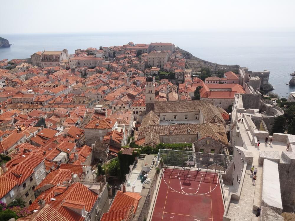 Dubrownik – widok z muru