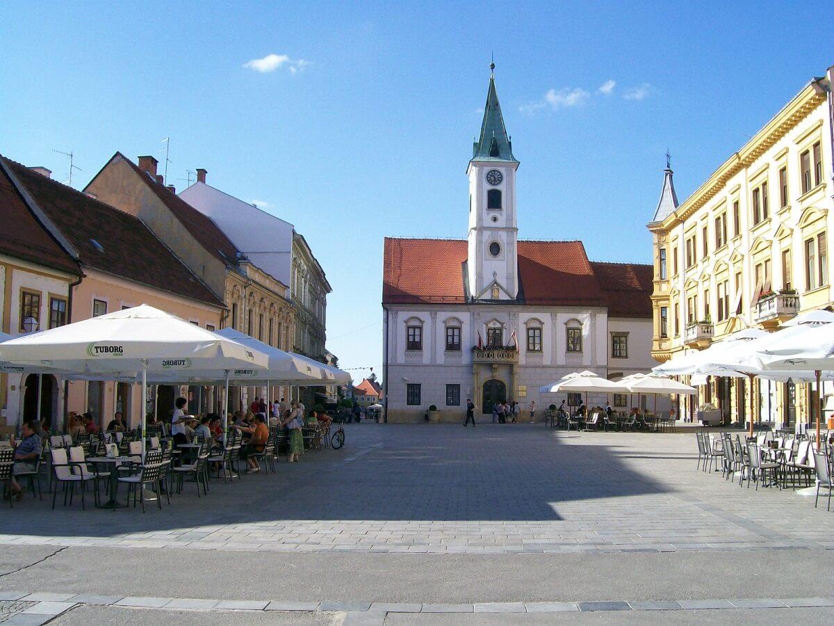 Varazdin w Chorwacji