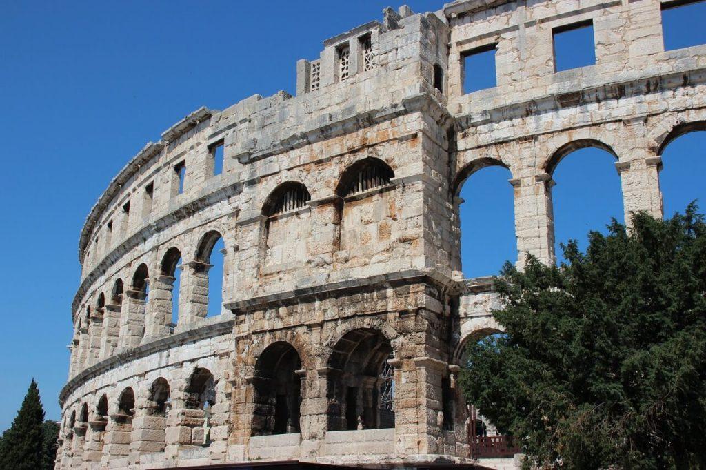 amfiteatr w pula chorwacja