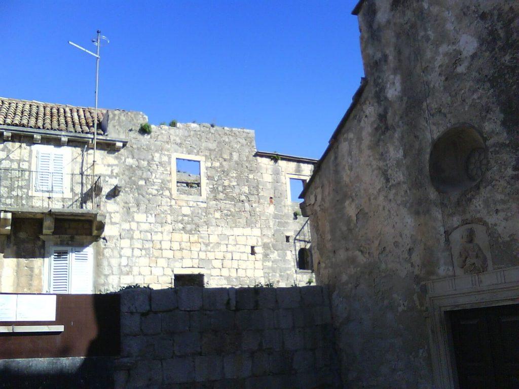 dom Marco Polo w korcula w chorwacji