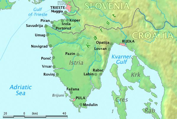 Istria folklor