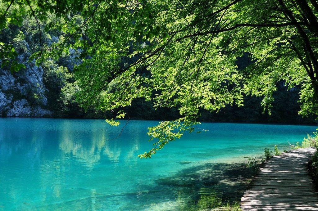 jezioro plitwickie w chorwacji