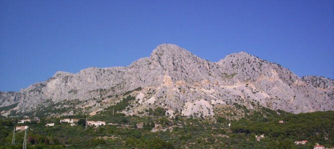 Biokovo – jedna z atrakcji Chorwacji