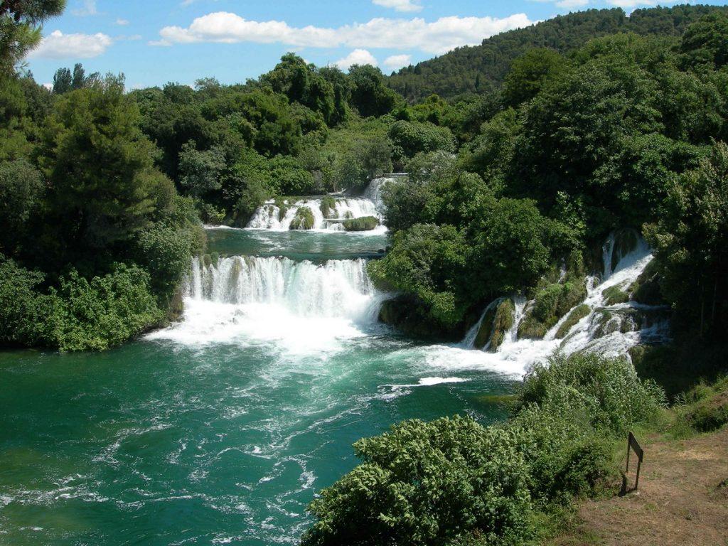 Wodospad w parku narodowym KRKA