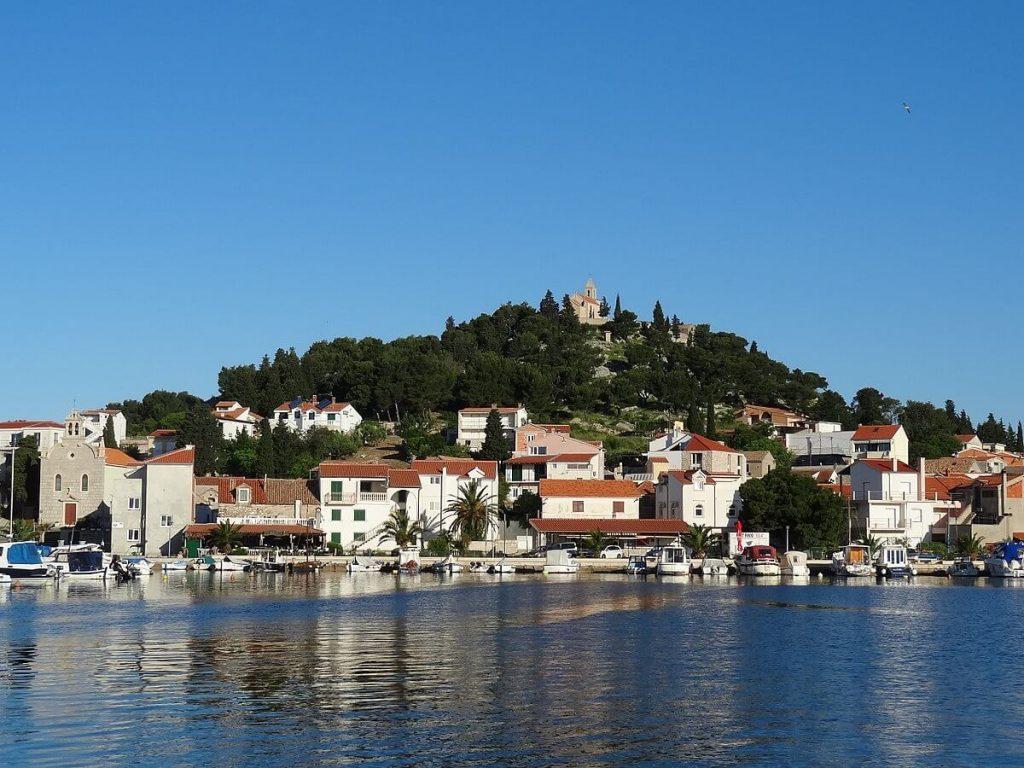 Tribunj w Chorwacji