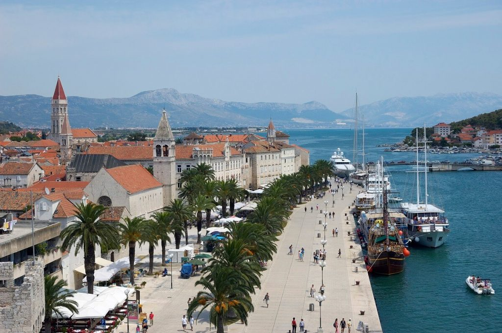 Promenada w Trogir